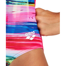 arena Rainbow Colors Pro Back One Piece Swimsuit Girls, kolorowy